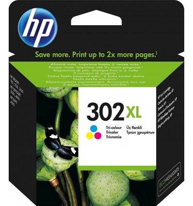 HP 302XL Tricolor F6U67AE
