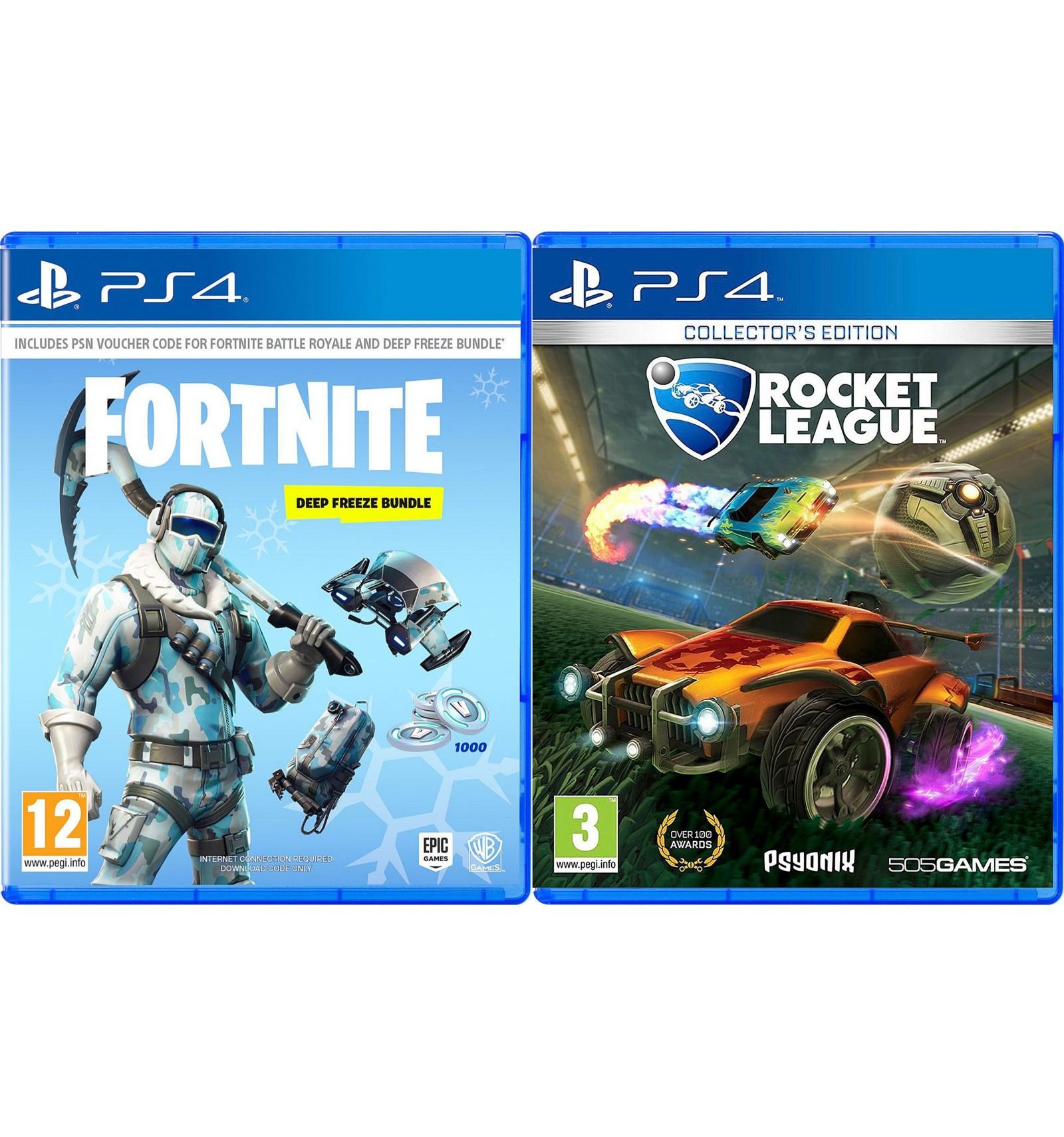Sony PS4 Slim 1TB + Fortnite: Deep Freeze Bundle + Rocket League