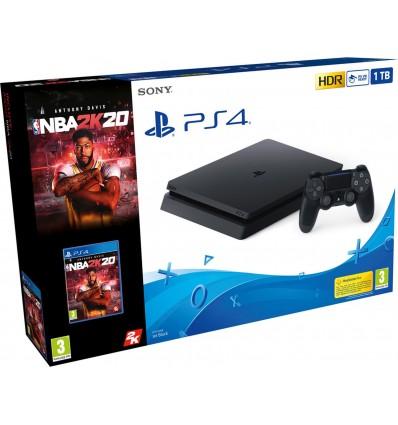 Sony PS4 Slim 1TB + NBA 2K20