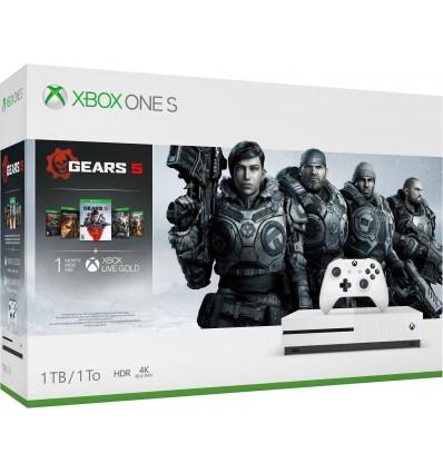 Microsoft Xbox One S 1TB + Gears 5 Standard Edition
