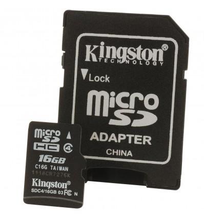 Kingston MicroSDHC SDC 4 8GB